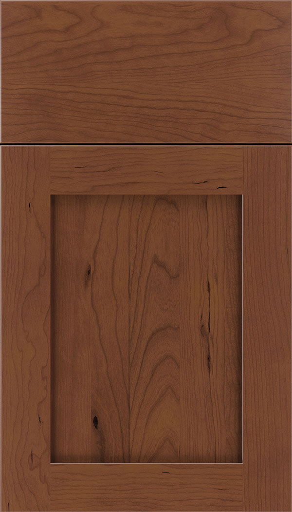 Plymouth Cherry shaker cabinet door in Russet
