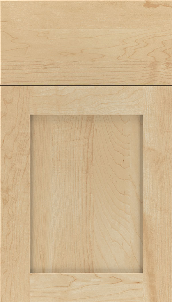 Plymouth Maple shaker cabinet door in Natural