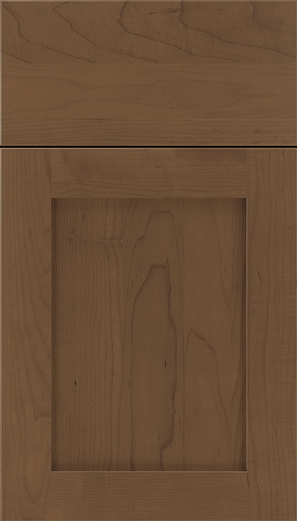 Plymouth Maple shaker cabinet door in Toffee