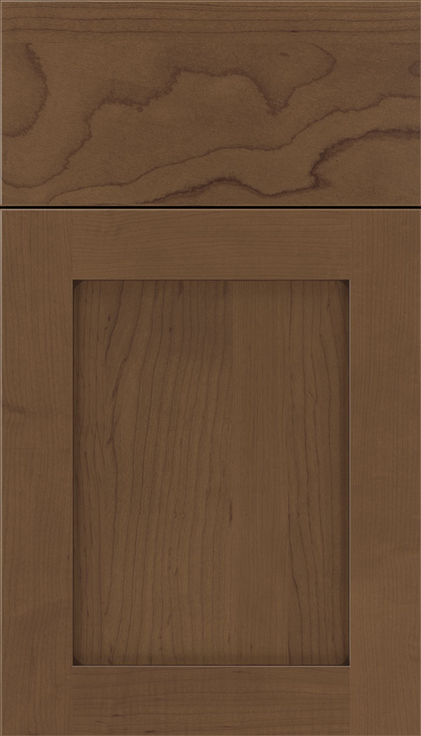 Plymouth Maple shaker cabinet door in Toffee with Mocha glaze