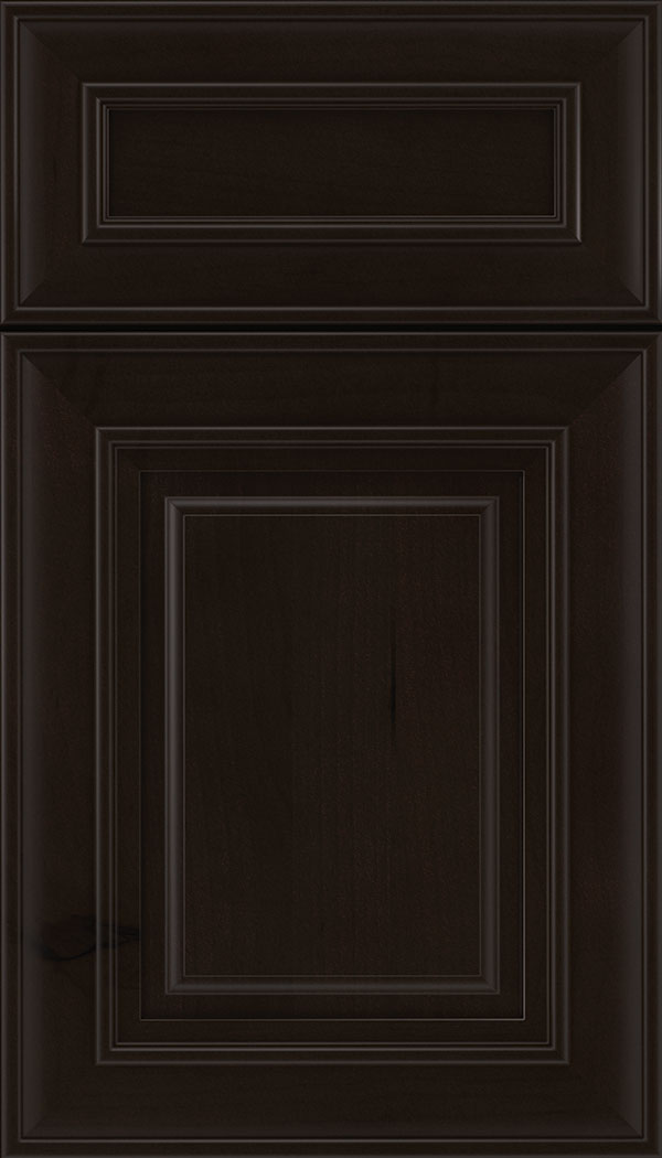 Regency 5pc Alder raised panel cabinet door in Espresso