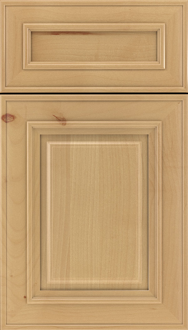Regency 5pc Alder raised panel cabinet door in Natural