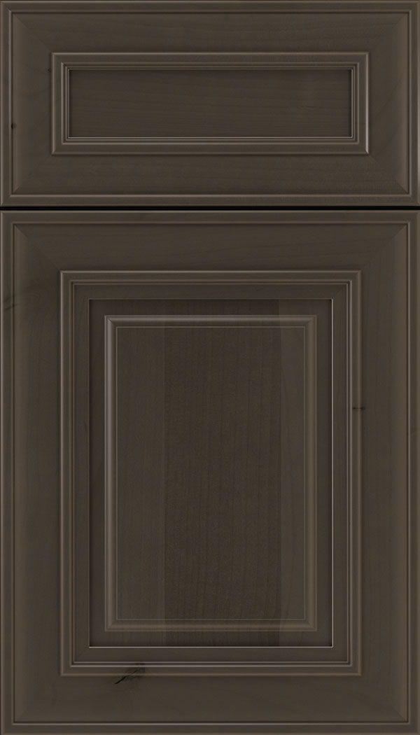 Regency 5pc Alder raised panel cabinet door in Thunder