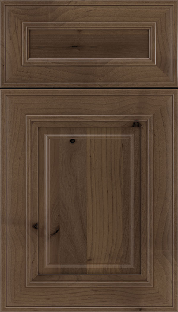 Regency 5pc Alder raised panel cabinet door in Toffee with Mocha glaze