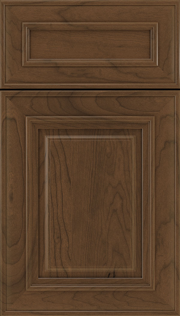 Regency 5pc Cherry raised panel cabinet door in Sienna