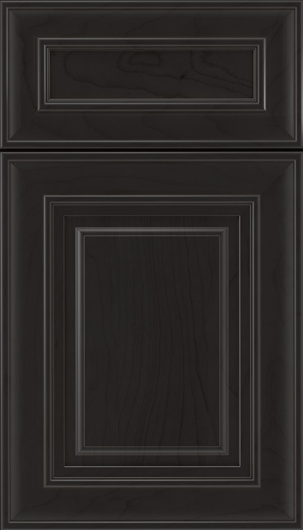 Regency 5pc Maple raised panel cabinet door in Charcoal