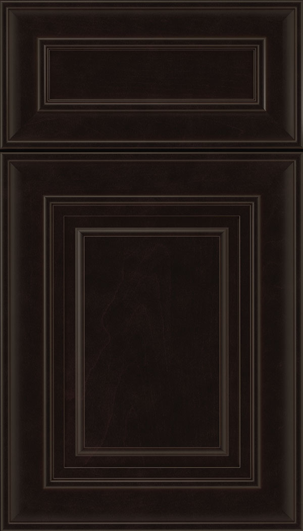 Regency 5pc Maple raised panel cabinet door in Espresso