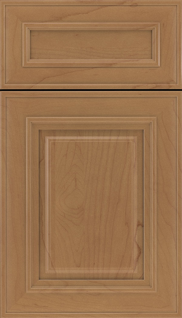 Regency 5pc Maple raised panel cabinet door in Nutmeg