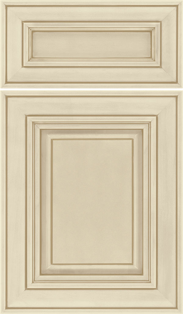 Regency 5pc Maple raised panel cabinet door in Palomino