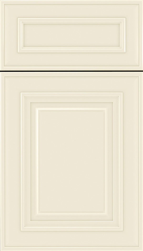 Regency 5pc Maple raised panel cabinet door in Seashell