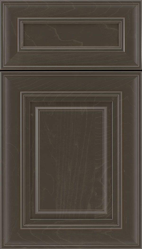 Regency 5pc Maple raised panel cabinet door in Thunder