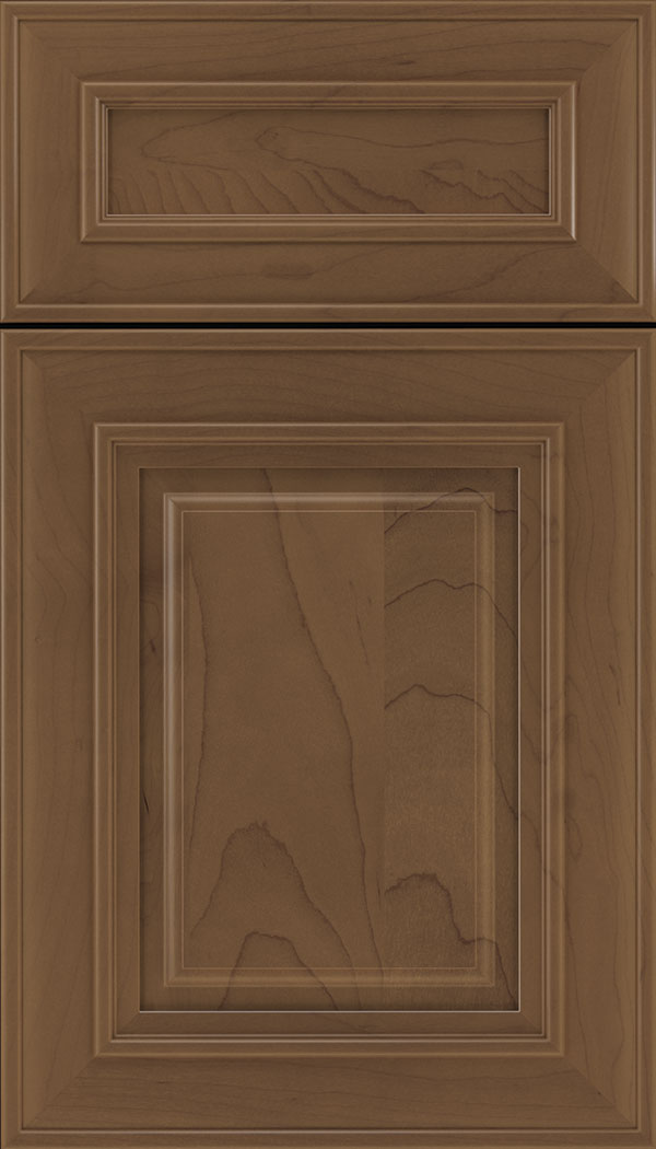 Regency 5pc Maple raised panel cabinet door in Toffee