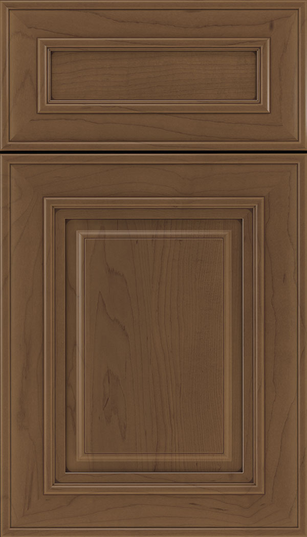 Regency 5pc Maple raised panel cabinet door in Toffee with Mocha glaze