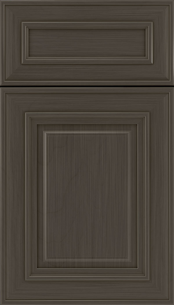 Regency 5pc Maple raised panel cabinet door in Weathered Slate