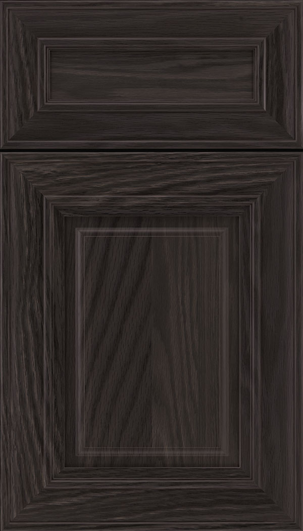 Regency 5pc Oak raised panel cabinet door in Espresso