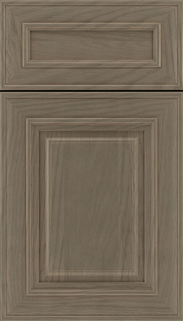 Regency 5pc Oak raised panel cabinet door in Winter
