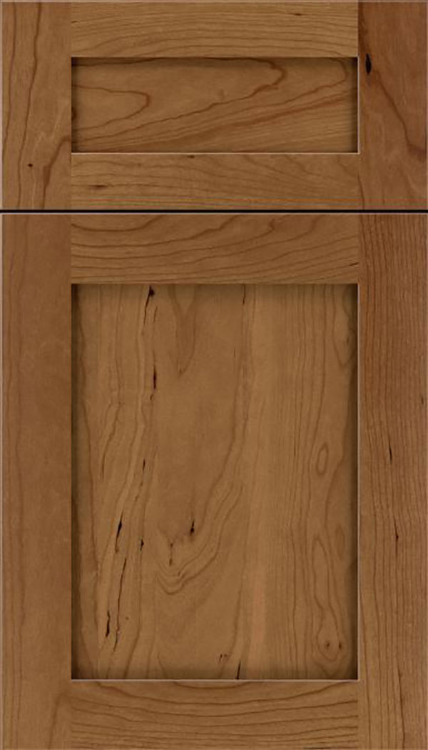 Salem 5pc Cherry shaker cabinet door in Tuscan