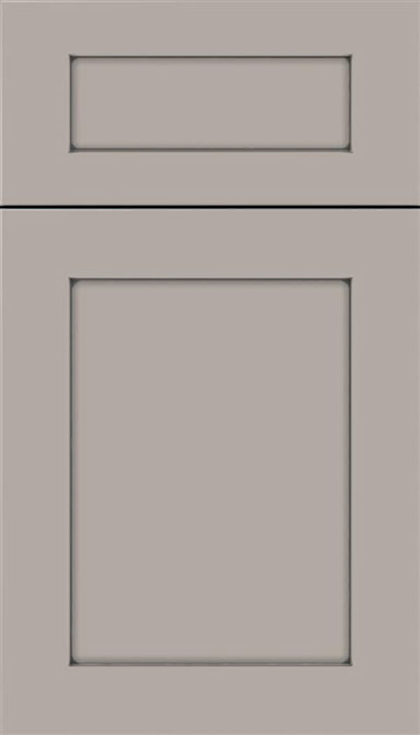 Salem 5pc MDF shaker cabinet door in Nimbus with Pewter glaze