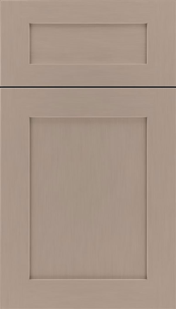 Salem 5pc MDF shaker cabinet door in Portabello
