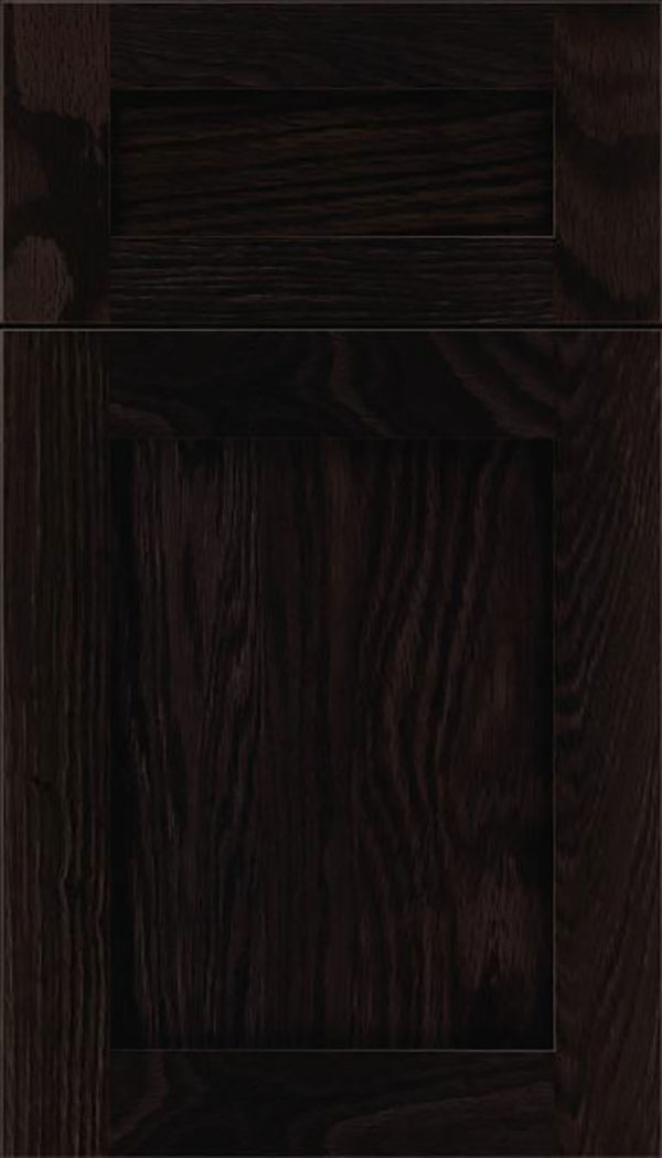 Salem 5pc Oak shaker cabinet door in Charcoal