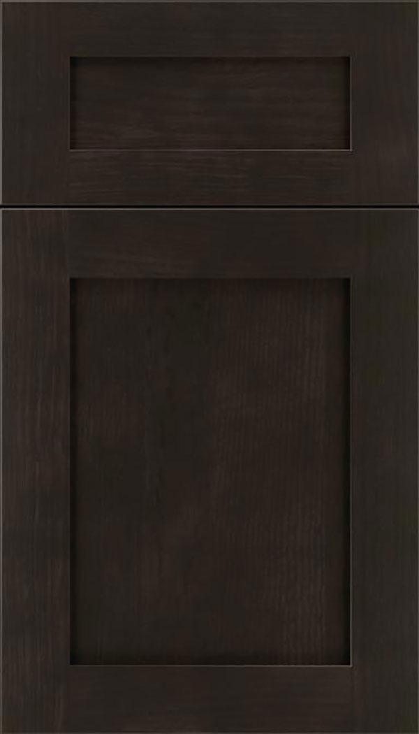 Salem 5pc Rift Oak shaker cabinet door in Thunder