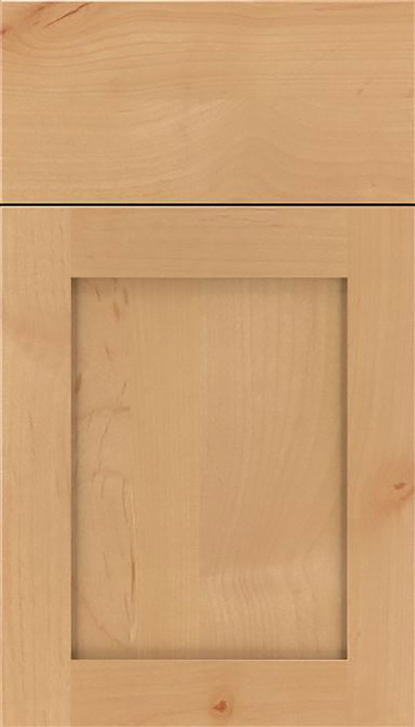 Salem Alder shaker cabinet door in Natural