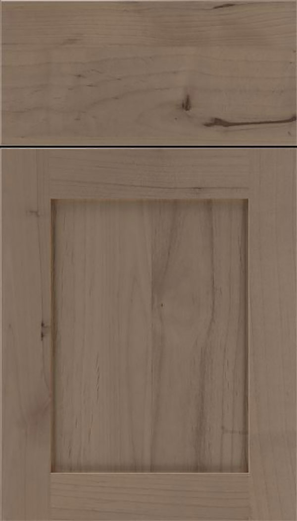 Salem Alder shaker cabinet door in Winter