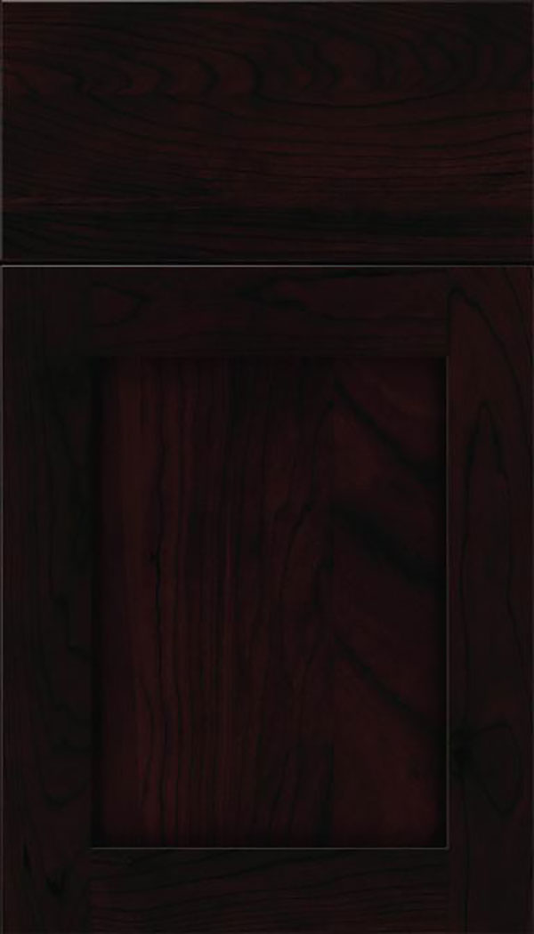 Salem Cherry shaker cabinet door in Espresso