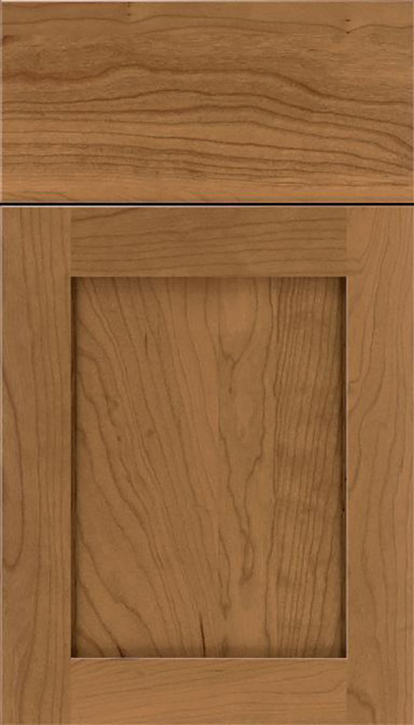 Salem Cherry shaker cabinet door in Tuscan