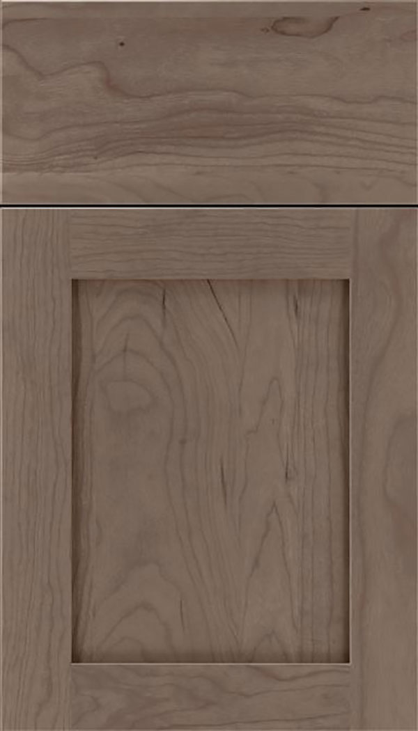 Salem Cherry shaker cabinet door in Winter