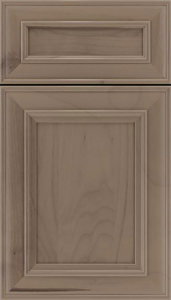 Sheffield 5pc Alder recessed panel cabinet door in Winter
