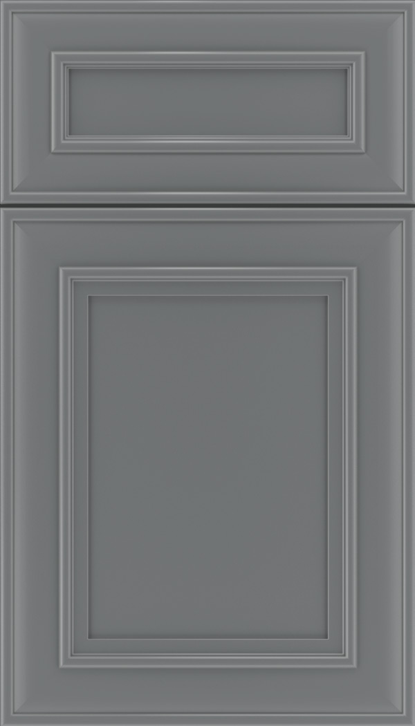 Sheffield 5pc Maple recessed panel cabinet door in Cloudburst