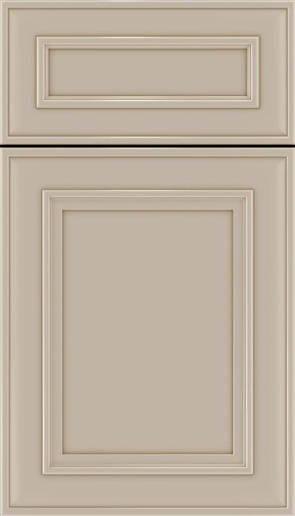 Sheffield 5pc Maple recessed panel cabinet door in Moonlight