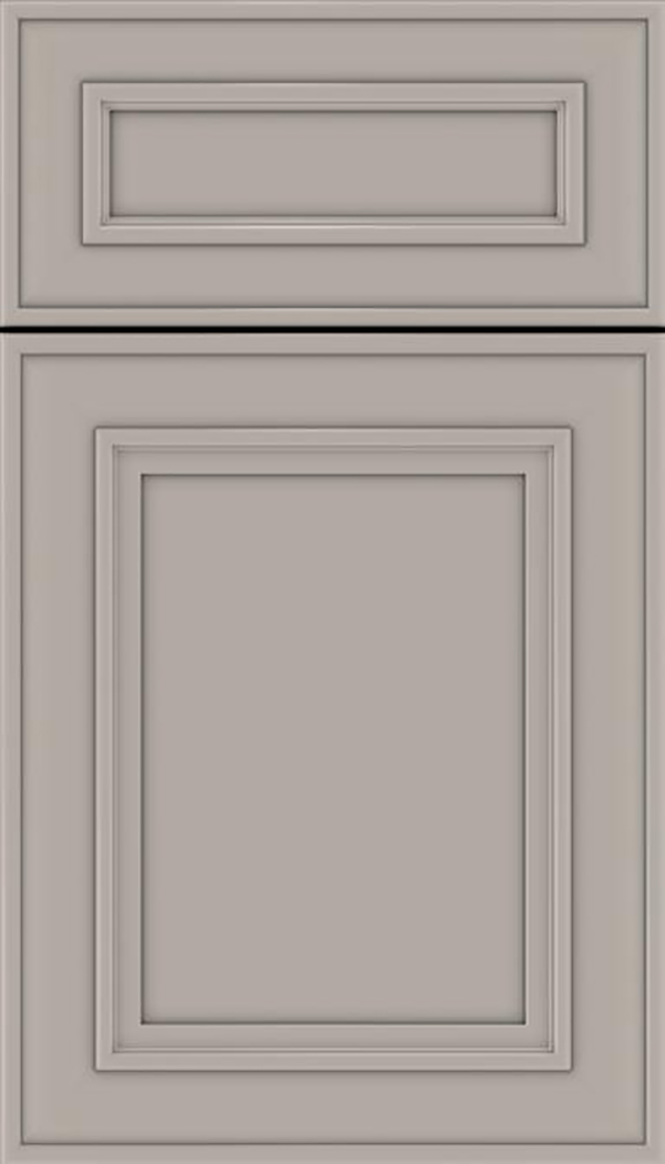 Sheffield 5pc Maple recessed panel cabinet door in Nimbus