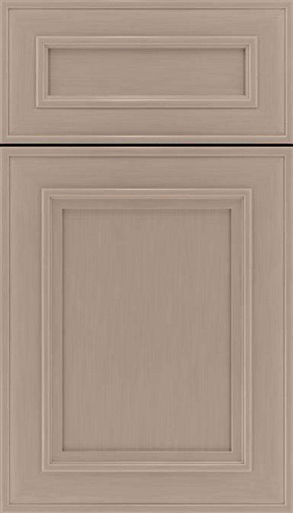 Sheffield 5pc Maple recessed panel cabinet door in Portabello
