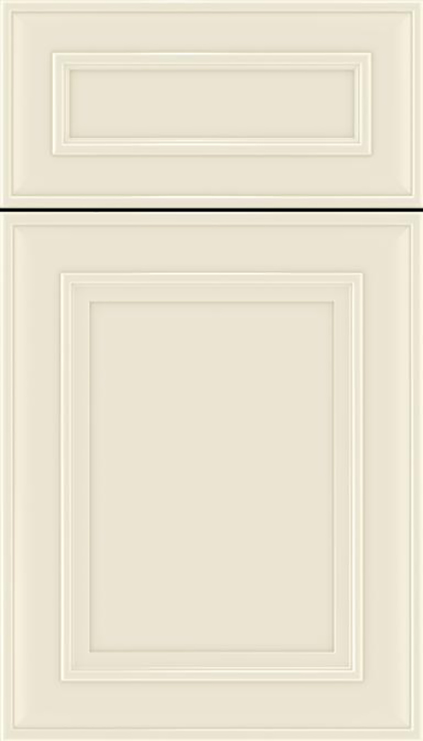 Sheffield 5pc Maple recessed panel cabinet door in Seashell