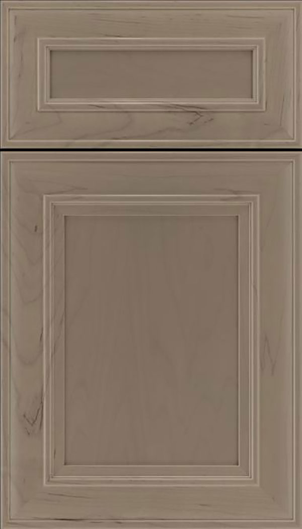 Sheffield 5pc Maple recessed panel cabinet door in Winter