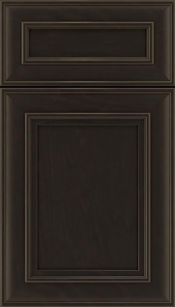 Sheffield 5pc Oak recessed panel cabinet door in Thunder