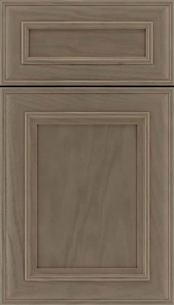 Sheffield 5pc Oak recessed panel cabinet door in Winter
