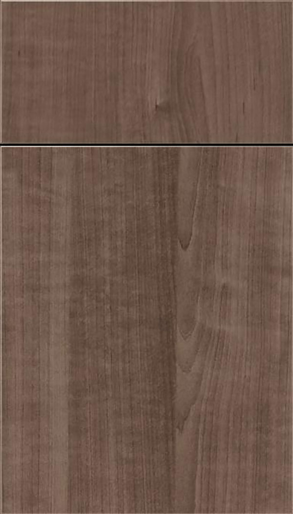 Soho Thermofoil cabinet door in Warm Walnut