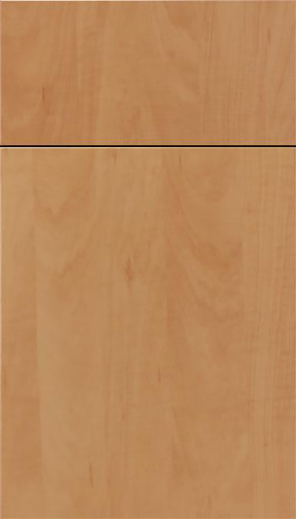 Soho Thermofoil cabinet door in Woodgrain Chardonnay