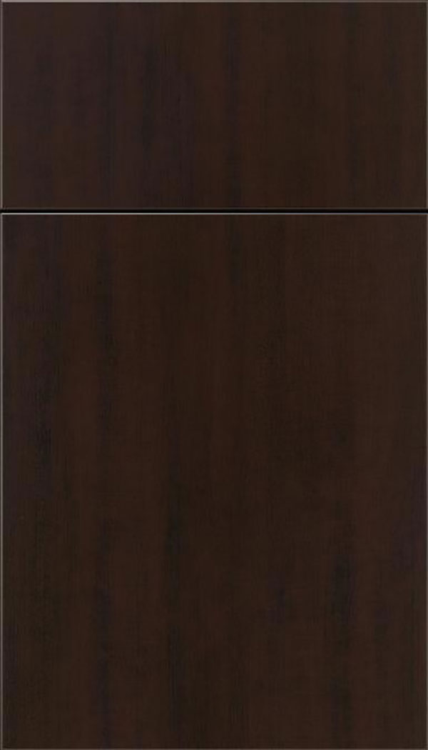 Soho Thermofoil cabinet door in Woodgrain Sambuca