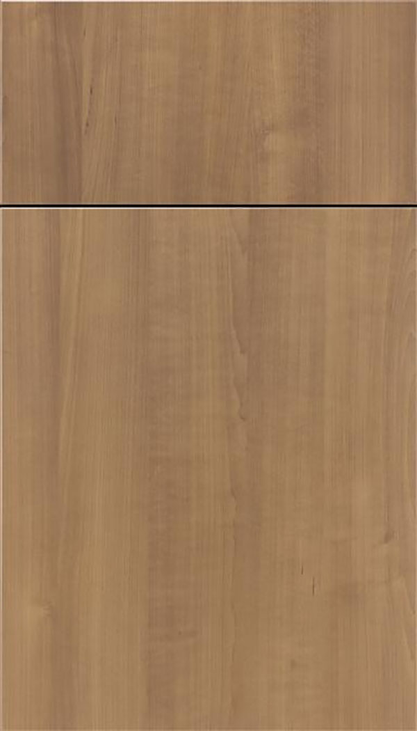 Soho Thermofoil cabinet door in Woodgrain Satinwood