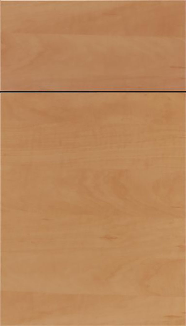 Soho Horizontal Thermofoil cabinet door in Woodgrain Chardonnay