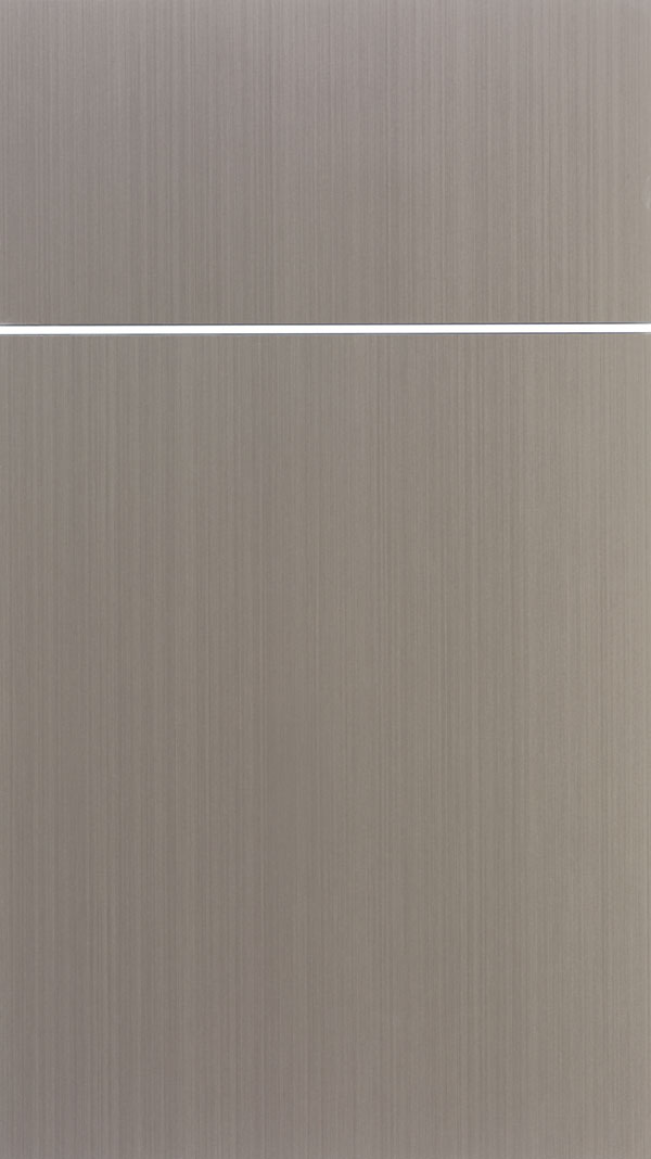 Summit Acrylic slab cabinet door in Wired Mercury