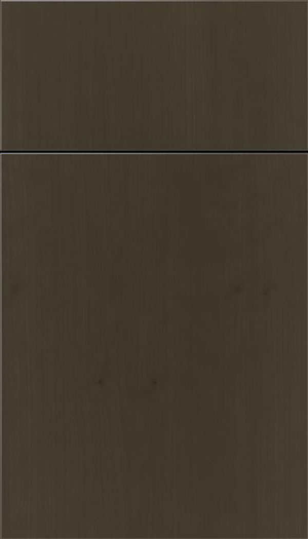 Summit Cherry slab cabinet door in Thunder
