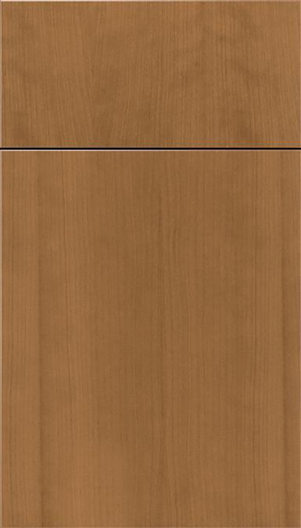 Summit Cherry slab cabinet door in Tuscan