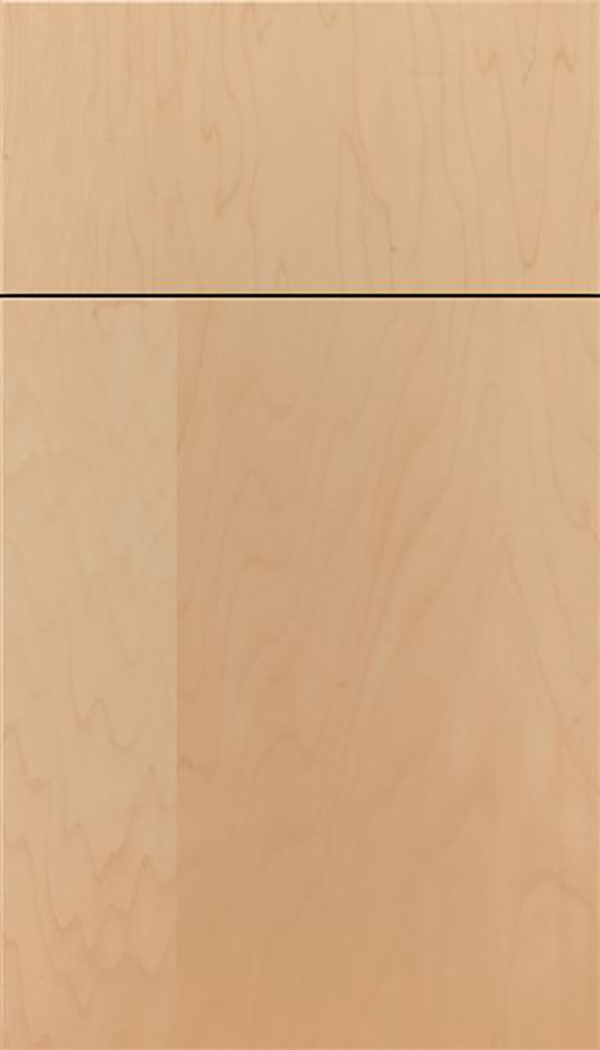 Summit Maple slab cabinet door in Natural