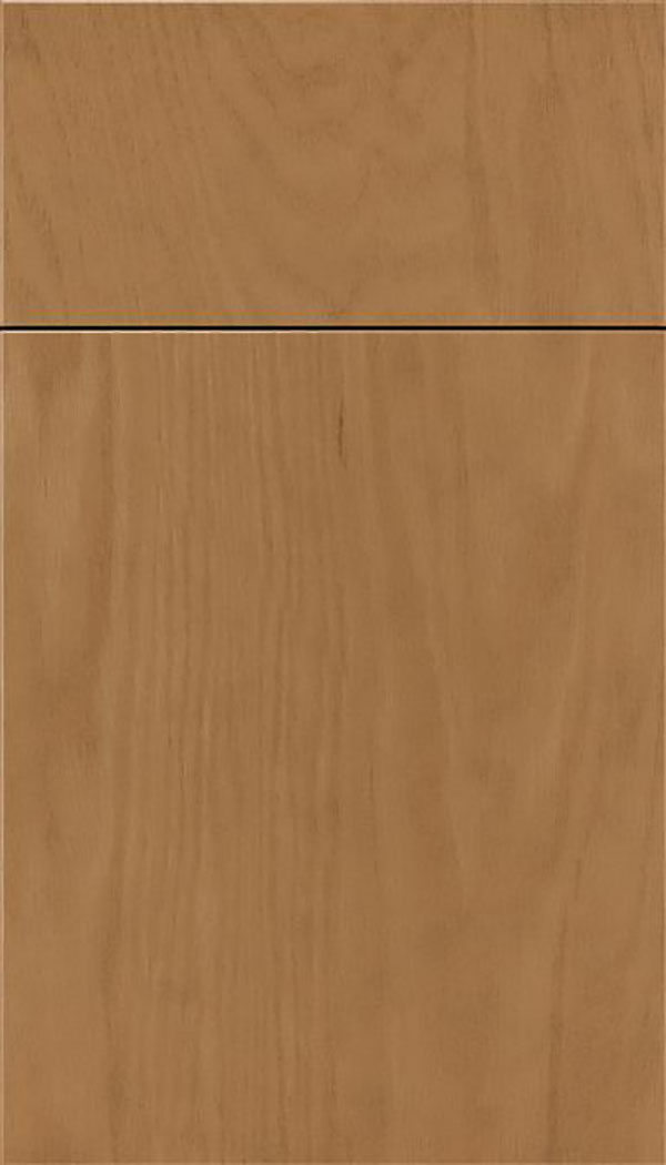 Summit Oak slab cabinet door in Tuscan