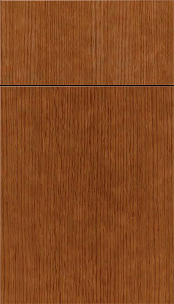 Summit Rift Oak slab cabinet door in Nutmeg